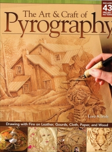 "Książka ""The Art & Craft of Pyrography"""