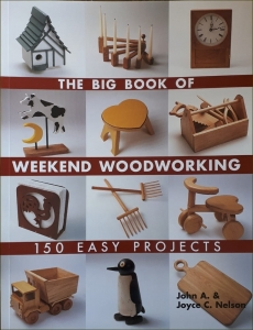 "Książka ""The big book of weekend woodworking"""