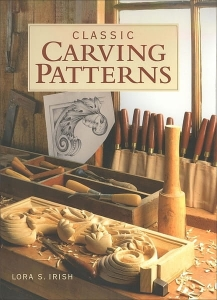 "Książka ""Classic Carving Patterns"""
