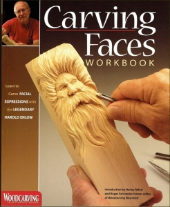 "Książka ""Carving faces workbook"""