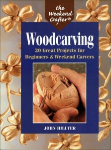 "Książka ""Woodcarving - the weekend crafter"""
